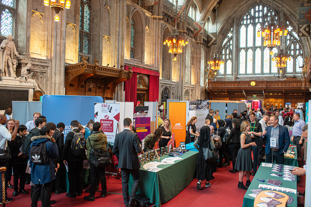 The major Apprenticeship Event in the City of London, Apprentice 20, is back at Guildhall on 29 and 30 June!