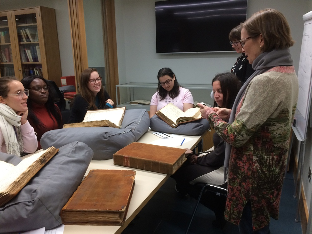 University of Greenwich Students visit the Stationers' Archive