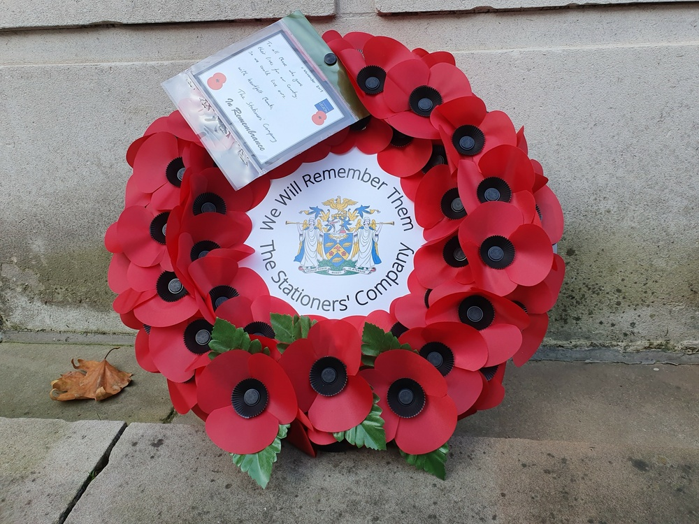 Armistice Day at Stationers' Hall