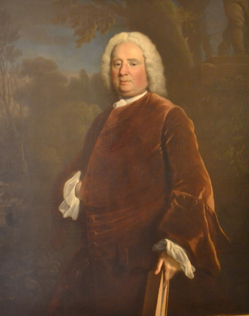 Paintings in Stationers' Hall - Samuel Richardson by Joseph Highmore