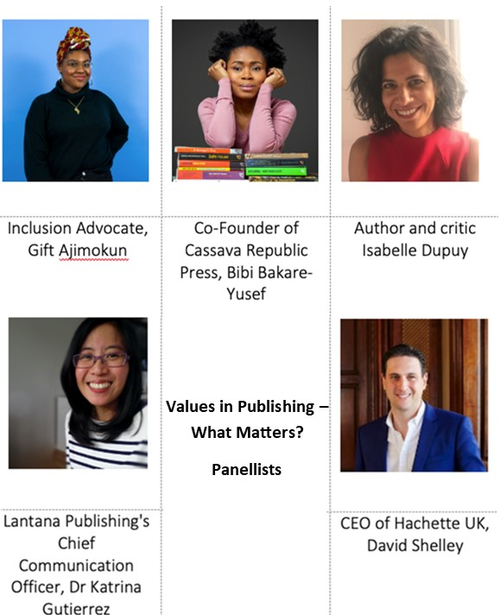 Values in Publishing - Virtual Event 1 July 2020