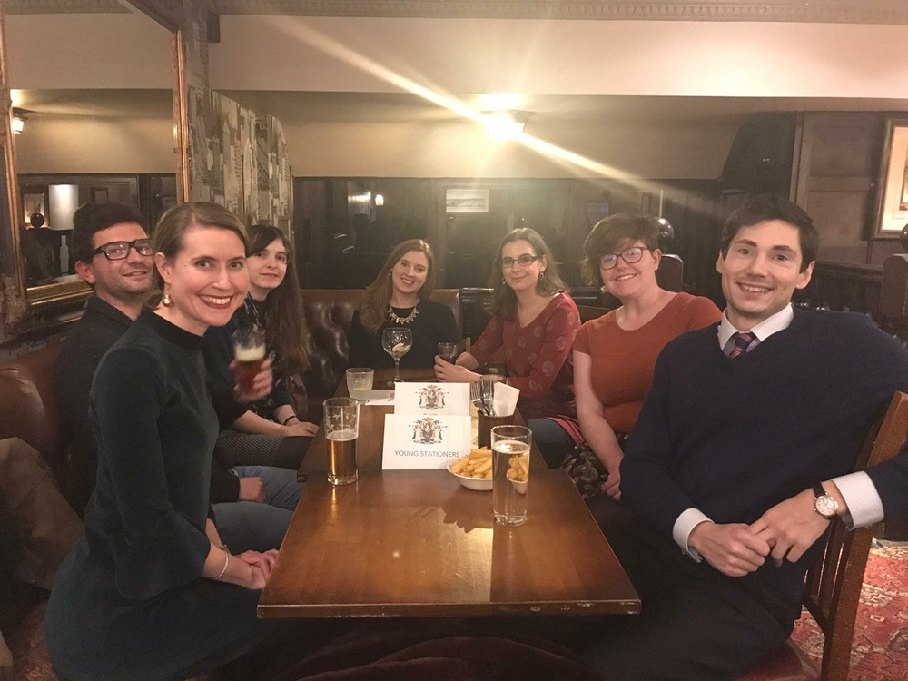 Young Stationers' Christmas Drinks