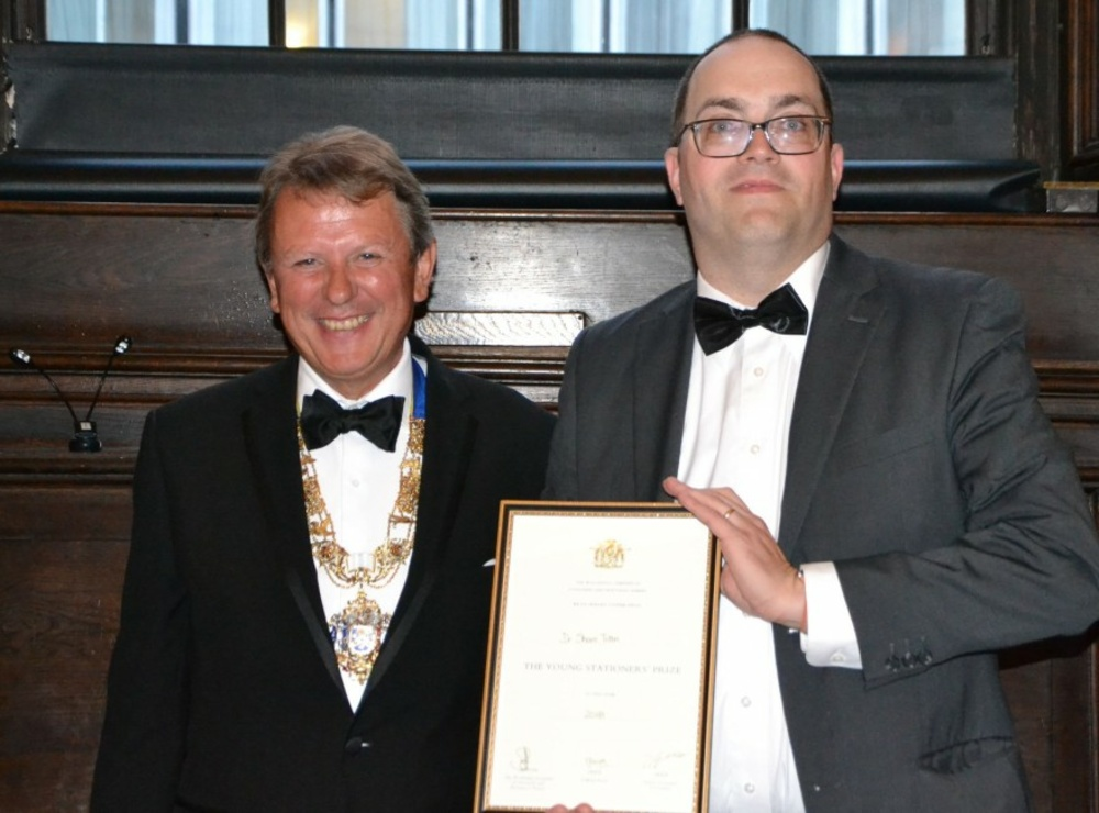 Young Stationers' Annual Dinner plus Prize and Awards Presentation