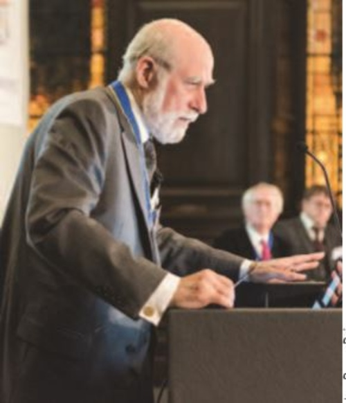 Congratulations to Honorary Liveryman and Freeman Dr Vint Cerf