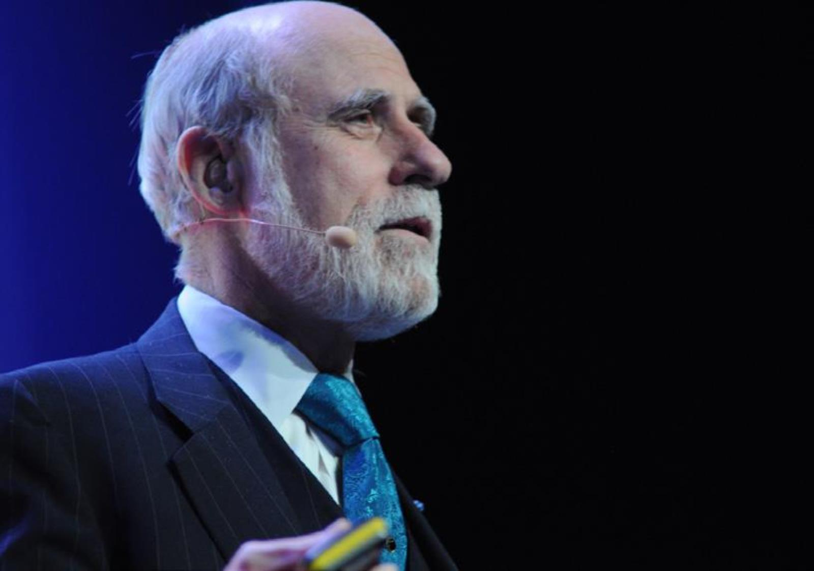 Annual Lecture and Dinner - 'Future of Text' given by Dr Vint Cerf, the Father of the Internet